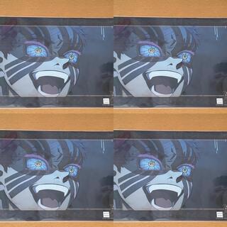 鬼滅の刃 無限列車編第2期 名場面レイヤードクリアファイル猗窩座4枚セット(クリアファイル)