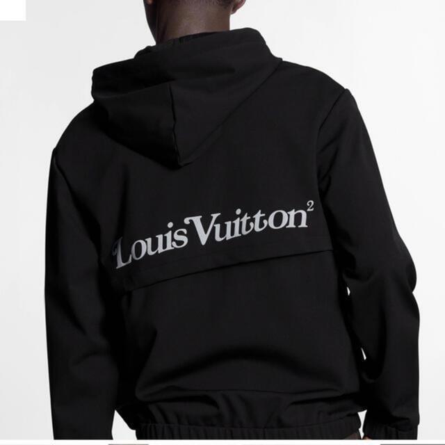 LOUIS VUITTON(ルイヴィトン)のルイヴィトン NIGOコラボ スクエアードLVジップフードブルゾン メンズのジャケット/アウター(ブルゾン)の商品写真
