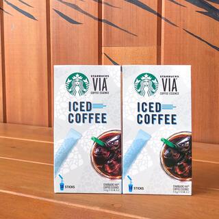 Starbucks Coffee - スターバックス ヴィア 2箱 アイスコーヒー インスタントコーヒー スタバ