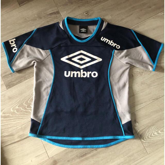 UMBRO(アンブロ)のアンブロ サッカー ウェア練習着 Tシャツ 130 スポーツ/アウトドアのサッカー/フットサル(ウェア)の商品写真