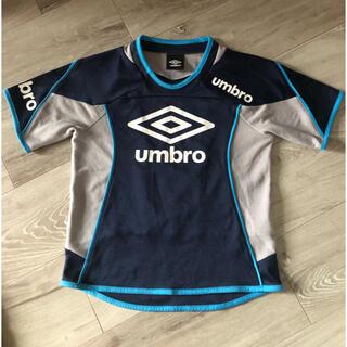 アンブロ(UMBRO)のアンブロ サッカー ウェア練習着 Tシャツ 130(ウェア)