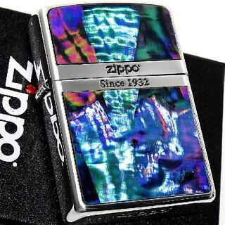 ジッポー(ZIPPO)の(送料込み)ZIPPO◇ロゴライン/シルバー◇ブラックシェル◇新品◇ ジッポ(タバコグッズ)