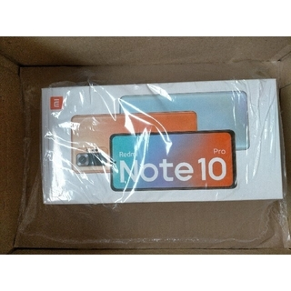 ANDROID - Redmi Note 10 Pro オニキスグレー 国内版