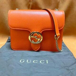 Gucci - ♦︎美品♦︎GUCCI インターロッキング ショルダーバッグ