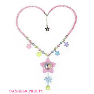 Angelic Pretty - Angelic Pretty Star Toy ネックレス ピンク