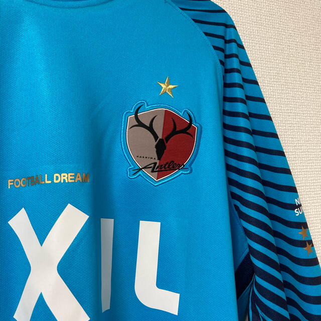NIKE(ナイキ)の鹿島アントラーズ GKユニフォーム スポーツ/アウトドアのサッカー/フットサル(ウェア)の商品写真