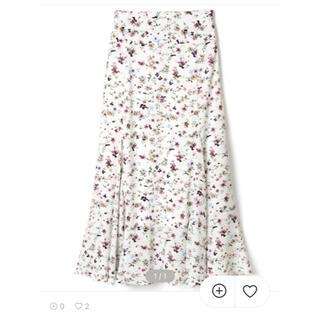 GRL - フラワーフレアスカート