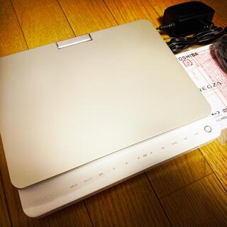 トウシバ(東芝)の★美品★REGZA ブルーレイプレイヤー ポータブル sd-bp900s★(ブルーレイプレイヤー)