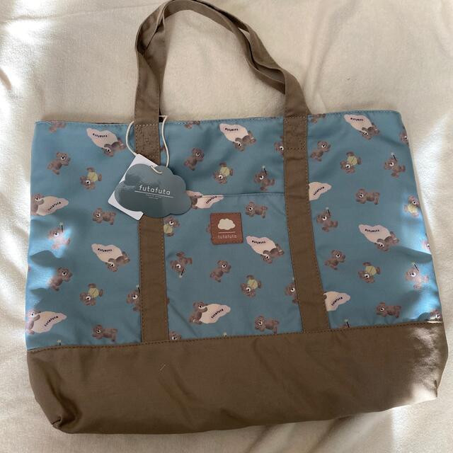 futafuta(フタフタ)のフタfutafuta フタ くま フタくま フタクマ レッスンバッグ  キッズ/ベビー/マタニティのこども用バッグ(レッスンバッグ)の商品写真