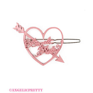 アンジェリックプリティー(Angelic Pretty)のDolly Heart ヘアピン ピンク Angelic Pretty(バレッタ/ヘアクリップ)
