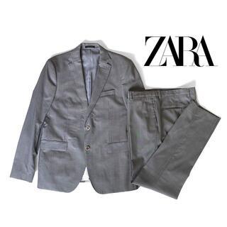 ザラ(ZARA)のZARA ザラ セットアップ スーツ グレー(セットアップ)
