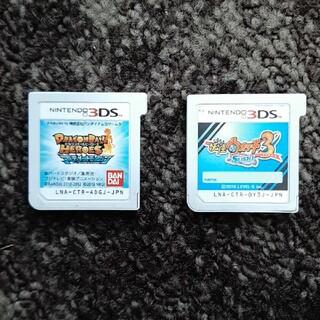 3DS ソフト 2本 妖怪ウォッチ スシ & ドラゴンボール アルティメット(携帯用ゲームソフト)