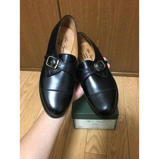 アルフレッドサージェント(Alfred Sargent)の新品 レディース アルフレッドサージェント 23cm 黒 カーフ シングルモンク(ローファー/革靴)
