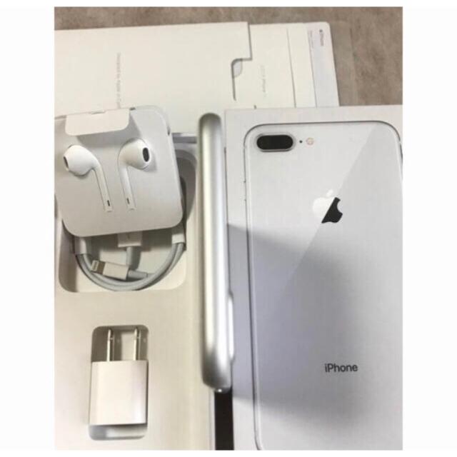 Apple(アップル)のiPhone 8plus 64GB SIMフリー      【新品同様】本体のみ スマホ/家電/カメラのスマートフォン/携帯電話(スマートフォン本体)の商品写真