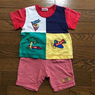 ミキハウス(mikihouse)のミキハウス 半袖Tシャツ 半ズボン 90(その他)