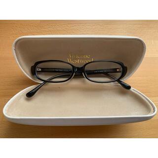 Vivienne Westwood - ヴィヴィアンウエストウッド 眼鏡フレーム黒 ケース付き