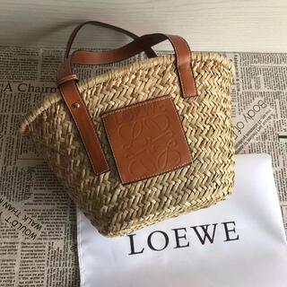 LOEWE - LOEWE ロエベ カゴバッグ バスケット タン