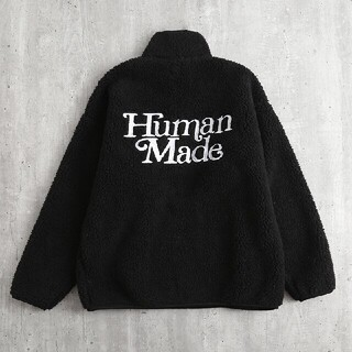 A BATHING APE - Human Made Girl's Don't Cry P/O Fleece