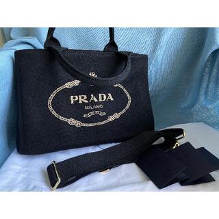 PRADA - 【PRADA】プラダ カナパ キャンバストートバッグ PRADA CANAPA