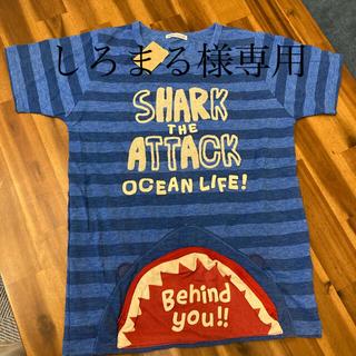 ラフ(rough)の【しろまる様専用】rough(ラフ)サメTシャツ チャックポケット付 面白い(Tシャツ(半袖/袖なし))