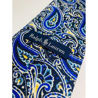 ラルフローレン(Ralph Lauren)のRALPH LAUREN/絹 100%/ネクタイ/ペイズリー柄//ビジネス(ネクタイ)