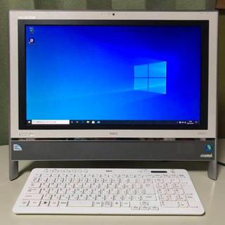 エヌイーシー(NEC)のNEC_VALUESTAR PC-VN370HS6W_Windows10(デスクトップ型PC)
