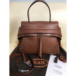TOD'S - 美品 TOD'S トッズ Wave ウェーブ 2way ハンドバッグ ショルダー