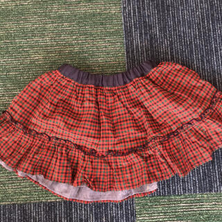 familiar - ファミリア 定番リバーシブルスカート  ファミリア チェック90