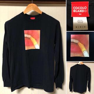 ココロブランド(COCOLOBLAND)の人気❗️COCOLO BLAND ココロブランド 煙草プリント ロンT(Tシャツ/カットソー(七分/長袖))