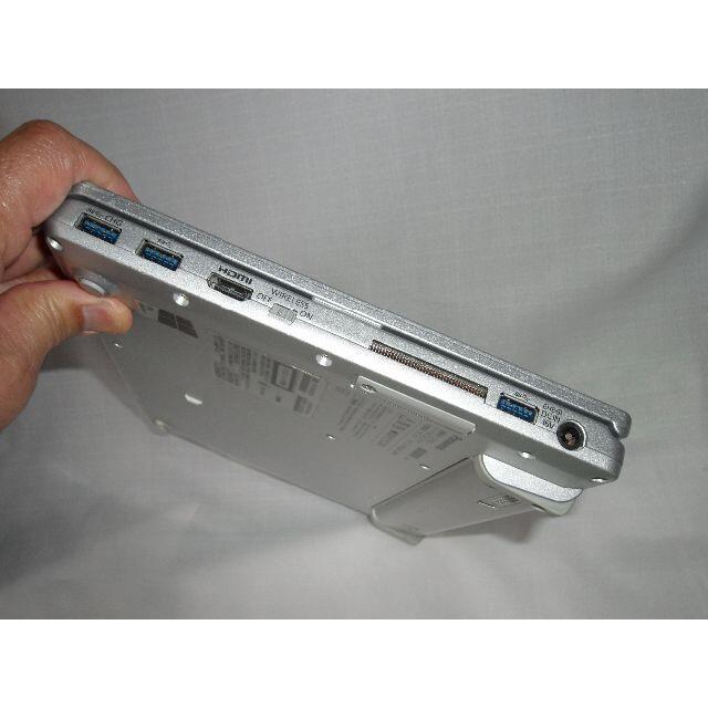 Panasonic(パナソニック)の特急!Let's Note 大容量快速 SSD512GB 第6世代CPUi5 スマホ/家電/カメラのPC/タブレット(ノートPC)の商品写真