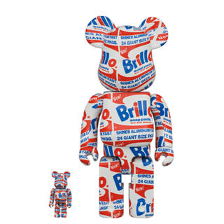 メディコムトイ(MEDICOM TOY)のBE@RBRICK ANDY WARHOL Brillo 100% & 400%(その他)