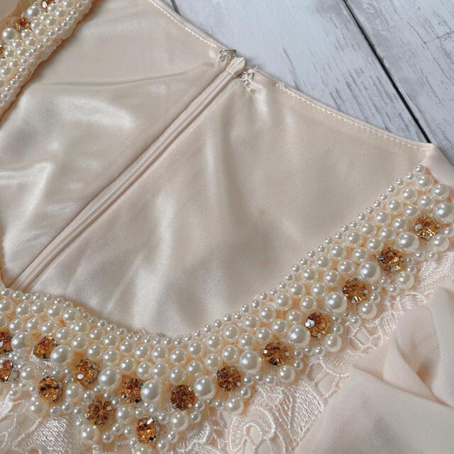 JEWELS(ジュエルズ)の新品 JEWELS ジュエルズ キャバドレス ミニドレス ビジュー レディースのフォーマル/ドレス(ミニドレス)の商品写真