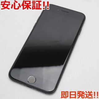 アイフォーン(iPhone)の美品 SIMフリー iPhone7 256GB ブラック (スマートフォン本体)