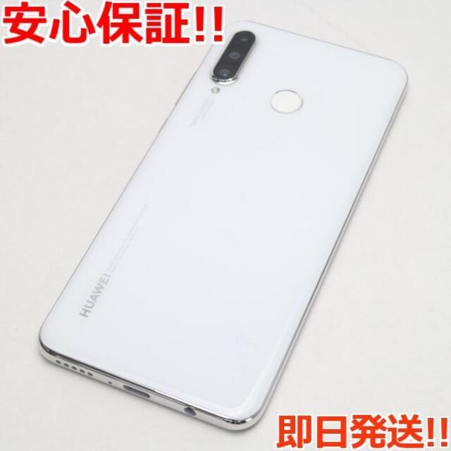 ANDROID(アンドロイド)の新品同様 Y!mobile HUAWEI P30 lite パールホワイト  スマホ/家電/カメラのスマートフォン/携帯電話(スマートフォン本体)の商品写真