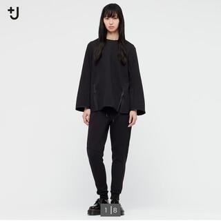 UNIQLO - UNIQLO +Jドライスウェットパンツ Mサイズ 黒