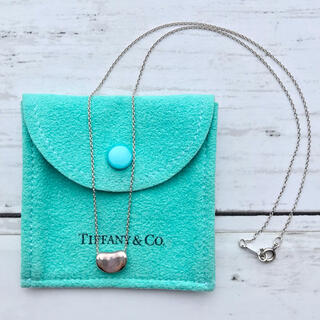 Tiffany & Co. - ティファニー ビーンズシルバーネックレス