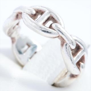 エルメス(Hermes)のエルメス シェーヌダンクル アンシェネ 925  シルバー メンズ リング(リング(指輪))