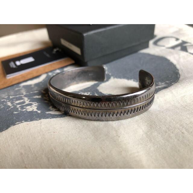 UNDERCOVER(アンダーカバー)のUNDER COVER アンダーカバー◆GIZバングルブレスレットシルバー925 メンズのアクセサリー(ブレスレット)の商品写真