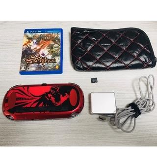 PlayStation Vita - 美品 限定レア PS vita ソウル・サクリファイス 本体