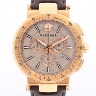 ヴェルサーチ(VERSACE)のヴェルサーチ ミスティックスポーツ GP×革   メンズ 腕時計(腕時計(アナログ))