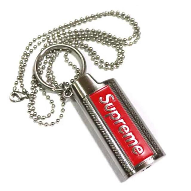 Supreme(シュプリーム)のSUPREME Metal Lighter Holster 19SS ネックレス メンズのアクセサリー(ネックレス)の商品写真