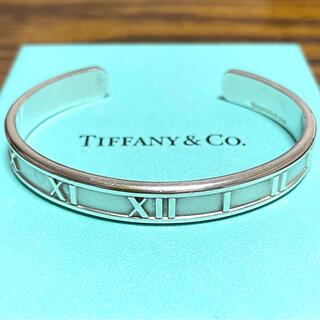 Tiffany & Co. - 【美品】ティファニー アトラス バングル スターリングシルバー925