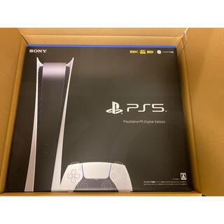 プレイステーション(PlayStation)のPS5 デジタルエディション 新品(ゲーム)