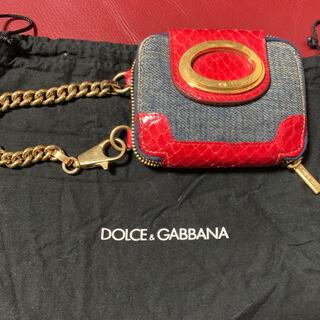 ドルチェアンドガッバーナ(DOLCE&GABBANA)のDOLCE&GABBANA ミニミニ化粧ポーチ、チャーム(ポーチ)