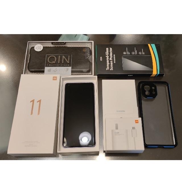 【新品同様】xiaomi mi11 8G/256G パープル euROM充電器付 スマホ/家電/カメラのスマートフォン/携帯電話(スマートフォン本体)の商品写真