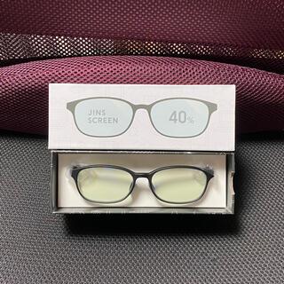 ジンズ(JINS)のJINS ブルーライトカットメガネ 40%カット(サングラス/メガネ)
