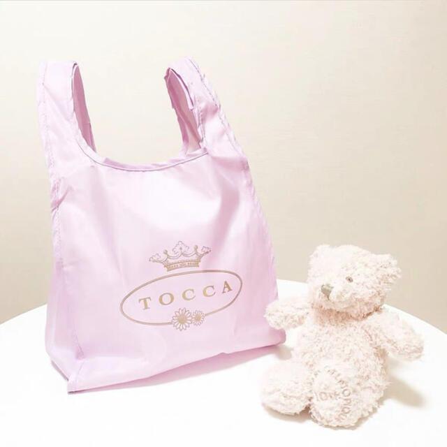 美人百花の雑誌付録 9月号 付録のみ TOCCAエコバッグ   レディースのバッグ(エコバッグ)の商品写真
