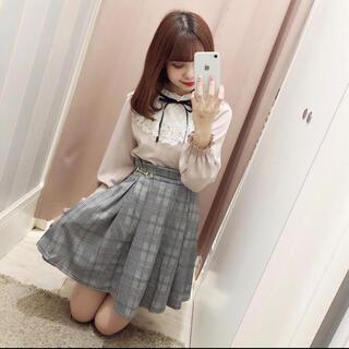 evelyn - evelyn ビットフレアSK スカート