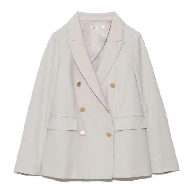 snidel(スナイデル)のsnidel スナイデル Sustainaクラシックブレザー ジャケット メンズのジャケット/アウター(ナイロンジャケット)の商品写真