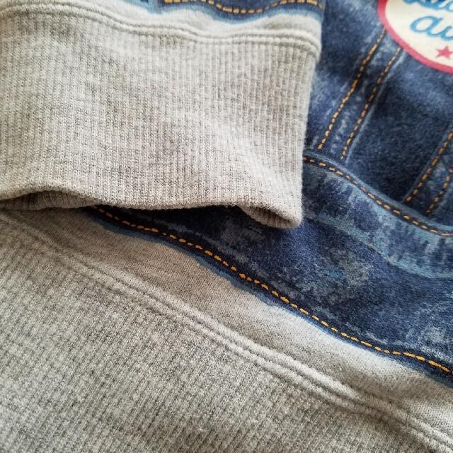 DOUBLE.B(ダブルビー)のミキハウス ダブルビー だまし絵 パーカー キッズ/ベビー/マタニティのキッズ服男の子用(90cm~)(ジャケット/上着)の商品写真
